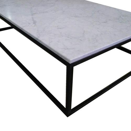 New Carrara marmer bijzettafel - Harrie Rombouts & Zonen &NU91